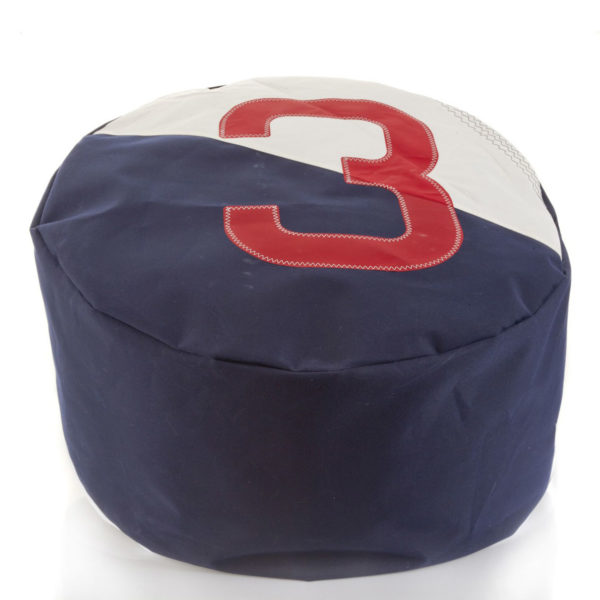 yamatiere - 727 Sailbags pouf duo navy