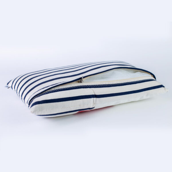 yamatiere - 727 sailbags coussin 50x30 navy
