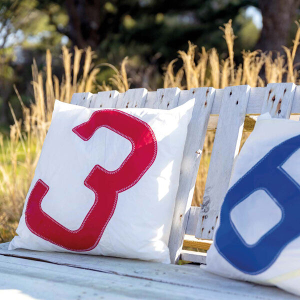 yamatiere - 727 sailbags coussin 50 x 50 spinnaker