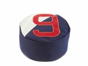 yamatiere - 727 sailbags pouf solo navy